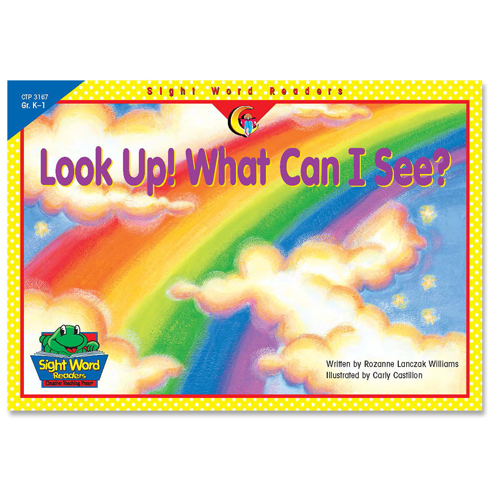 Look Up! What Can I See?, Sight Word Readers