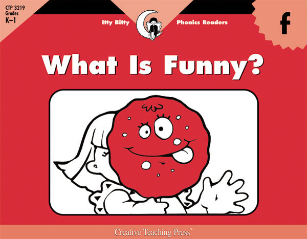 What Is Funny?, Itty Bitty Phonics Readers