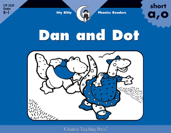 Dan and Dot, Itty Bitty Phonics Readers
