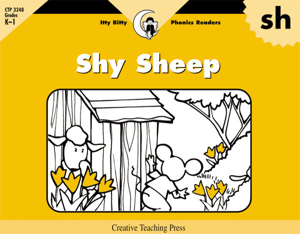 Shy Sheep, Itty Bitty Phonics Readers