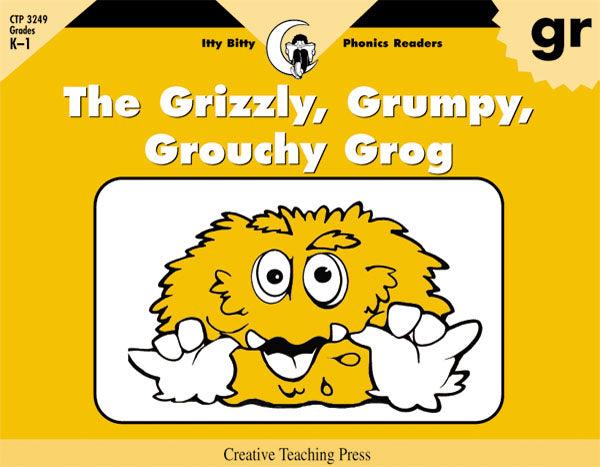 The Grizzly, Grumpy, Grouchy Grog, Itty Bitty Phonics Readers
