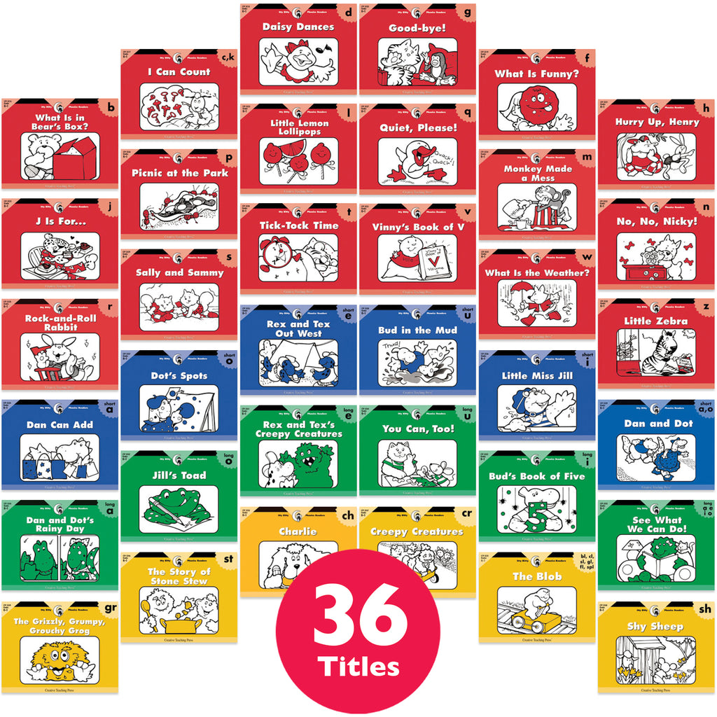 Itty Bitty Phonics Readers Variety Pack