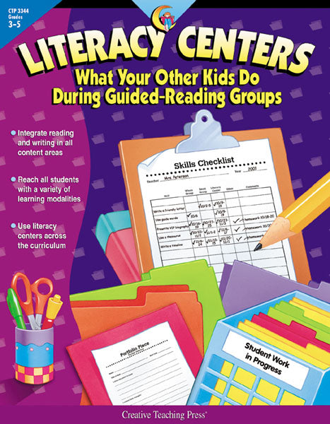 Literacy Centers, Open eBook