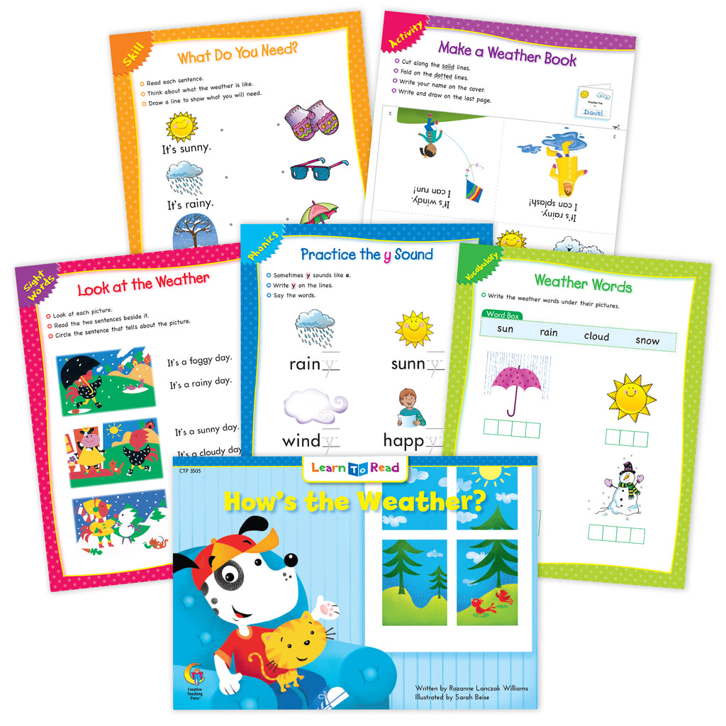 How's The Weather? Ebook & Worksheets