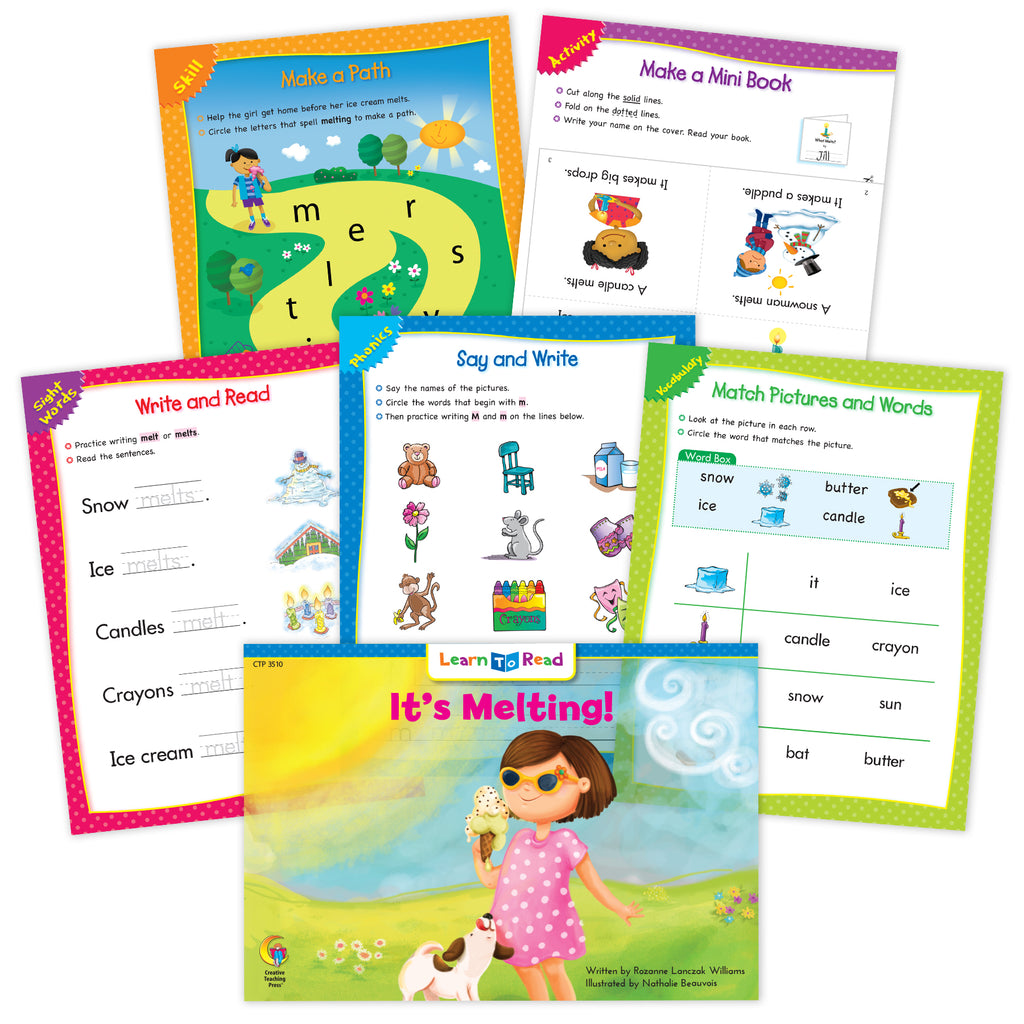 It's Melting! Ebook & Worksheets