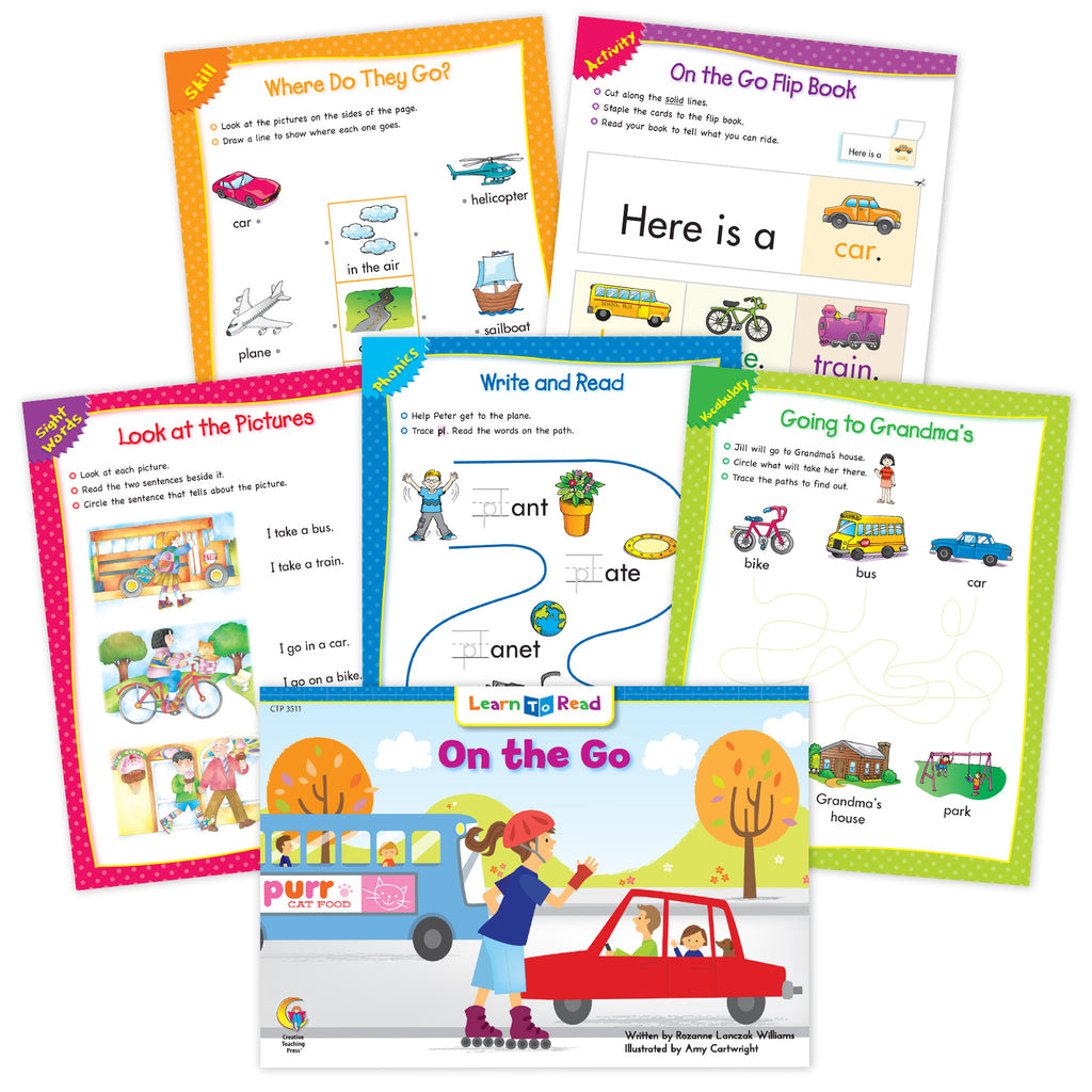 On The Go Ebook & Worksheets