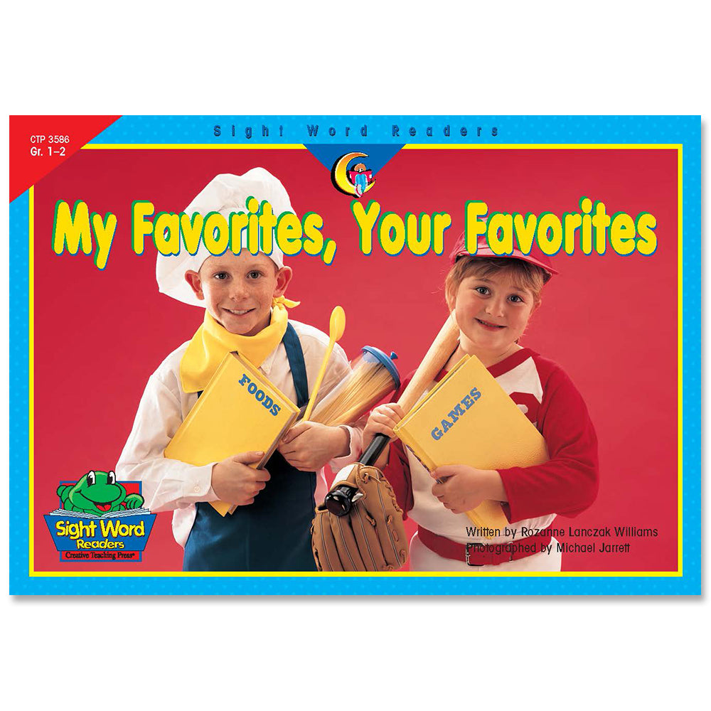 My Favorites, Your Favorites, Sight Word Readers
