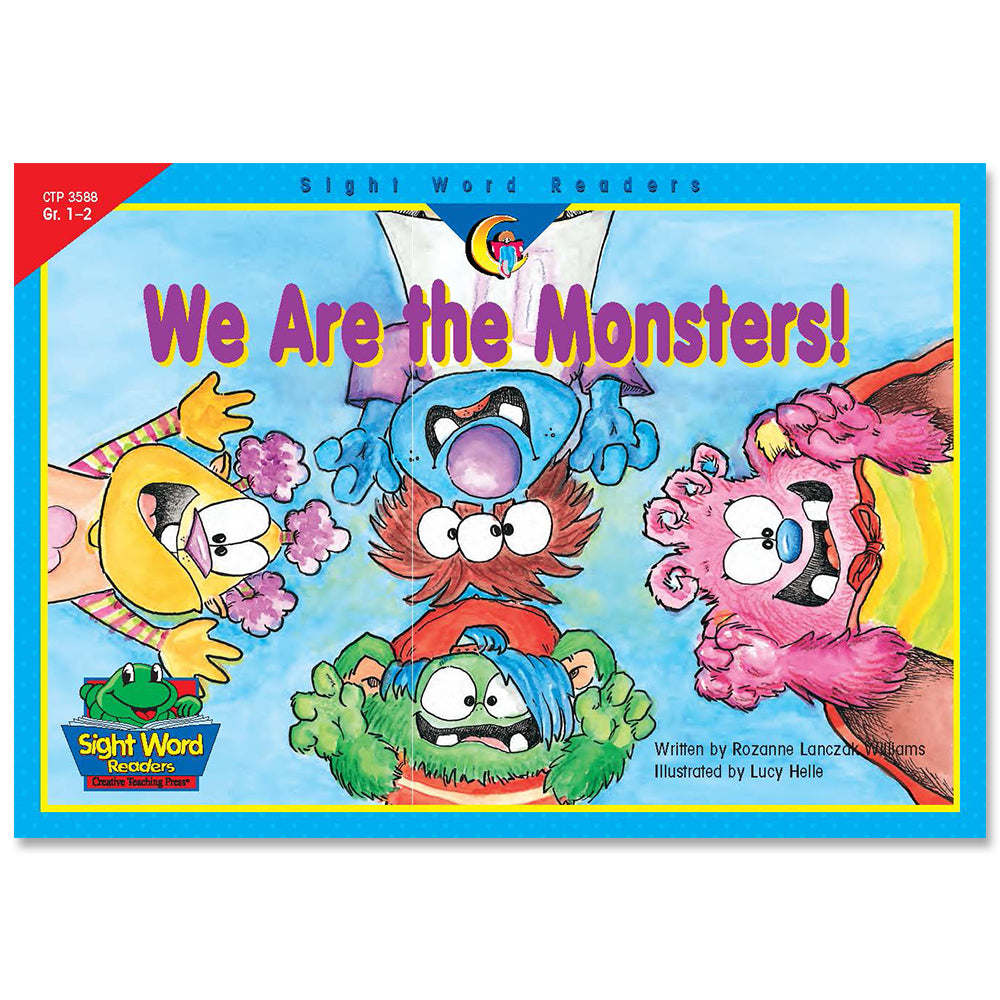 We Are the Monsters!, Sight Word Readers