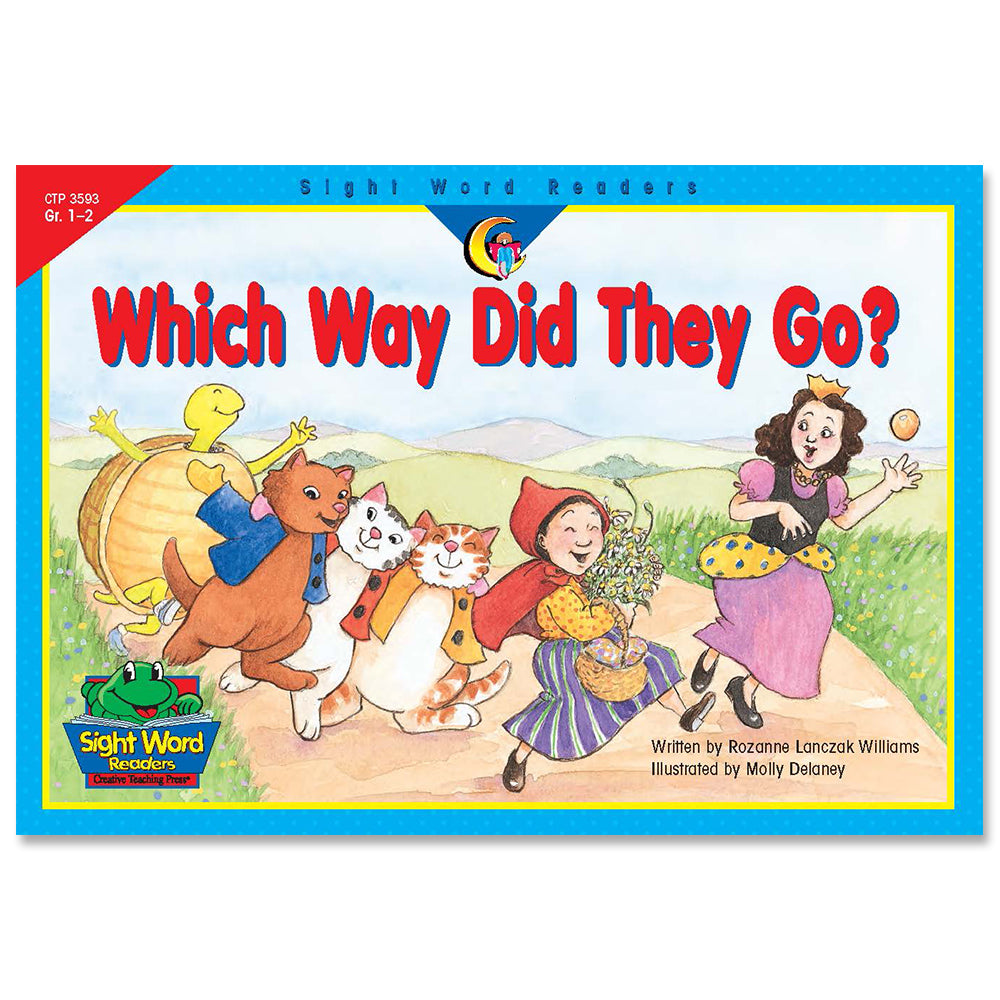Which Way Did They Go?, Sight Word Readers