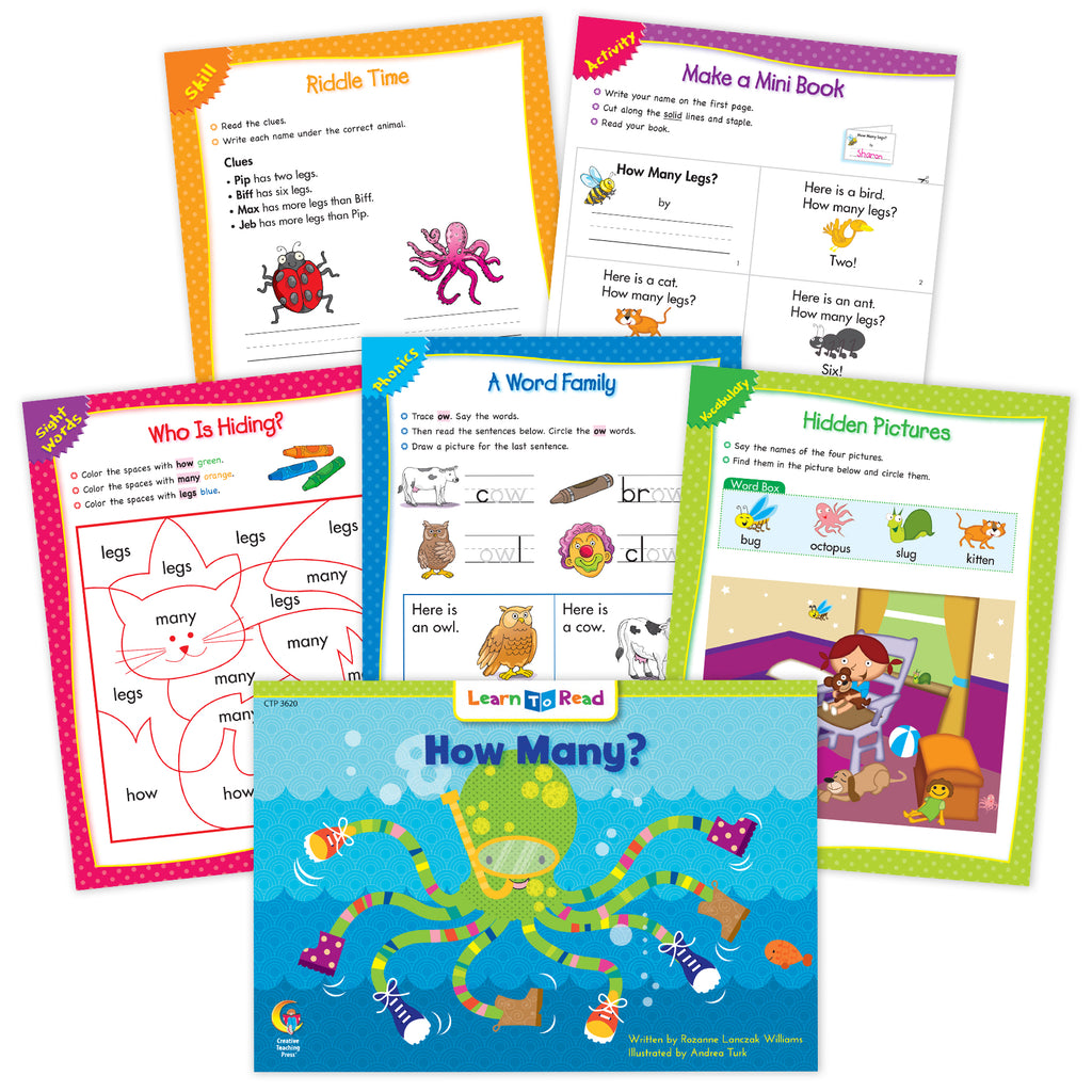 How Many? Ebook & Worksheets