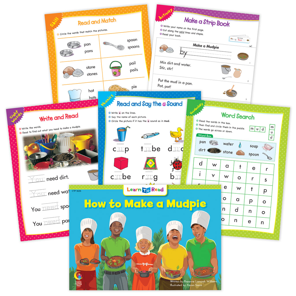How to Make a Mudpie Worksheets