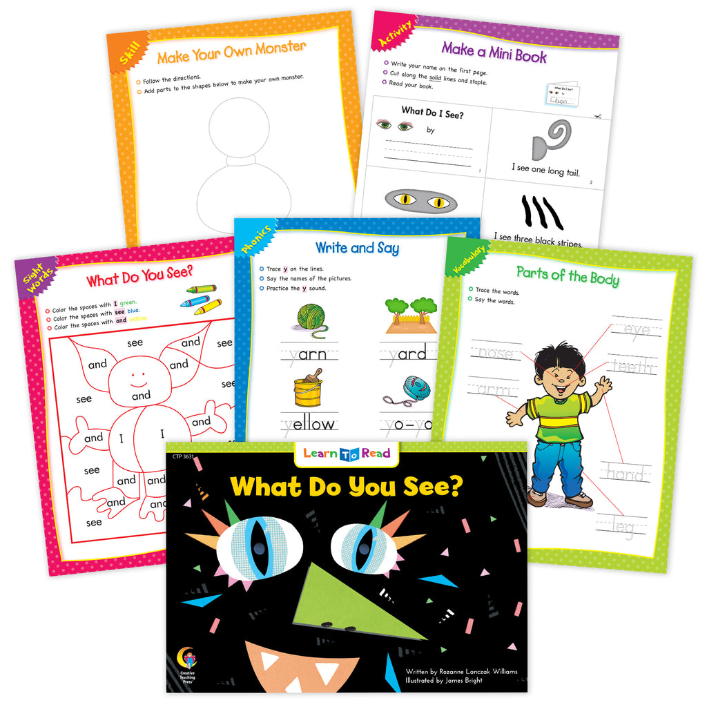 What Do You See? Worksheets
