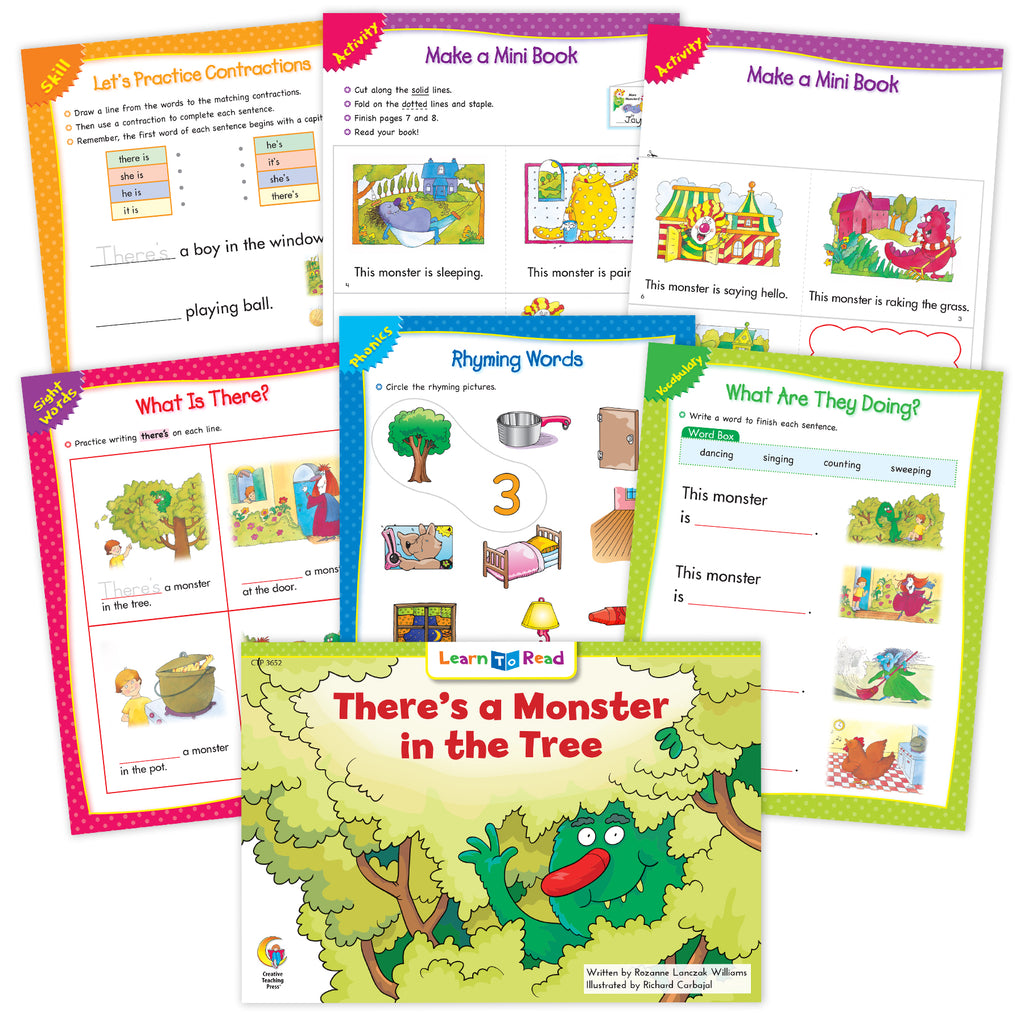 There'S A Monster In The Tree Ebook & Worksheets
