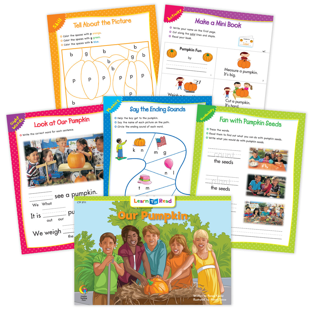 Our Pumpkin Worksheets