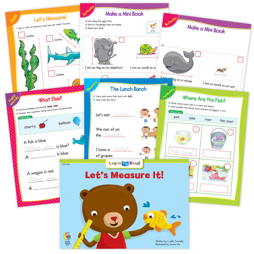 Let's Measure It Ebook & Worksheets