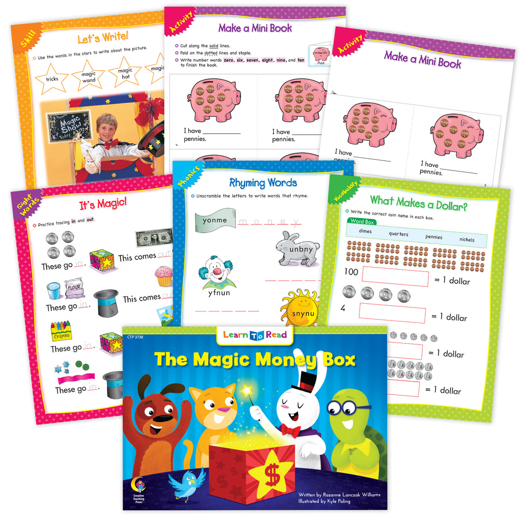 The Magic Money Box Ebook & Worksheets