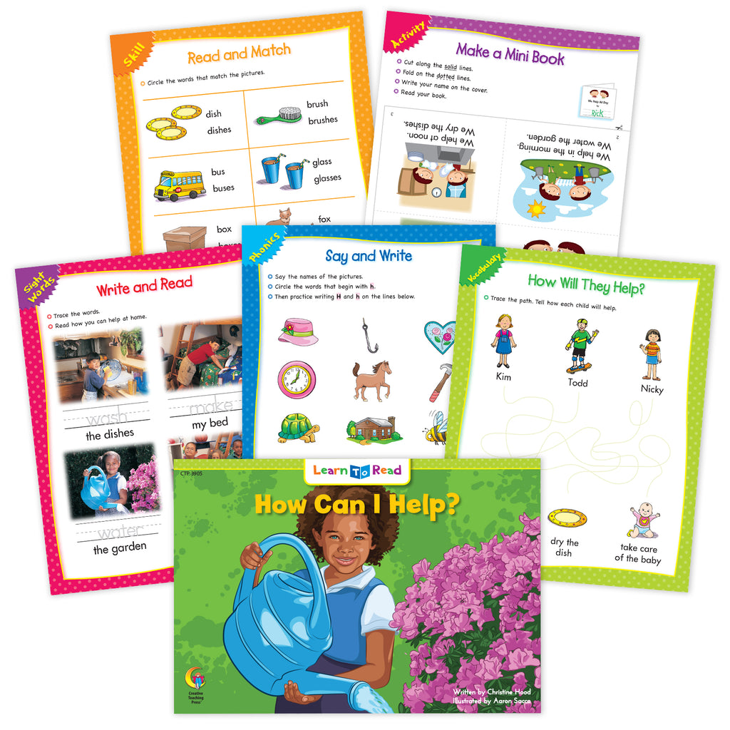 How Can I Help? Ebook & Worksheets