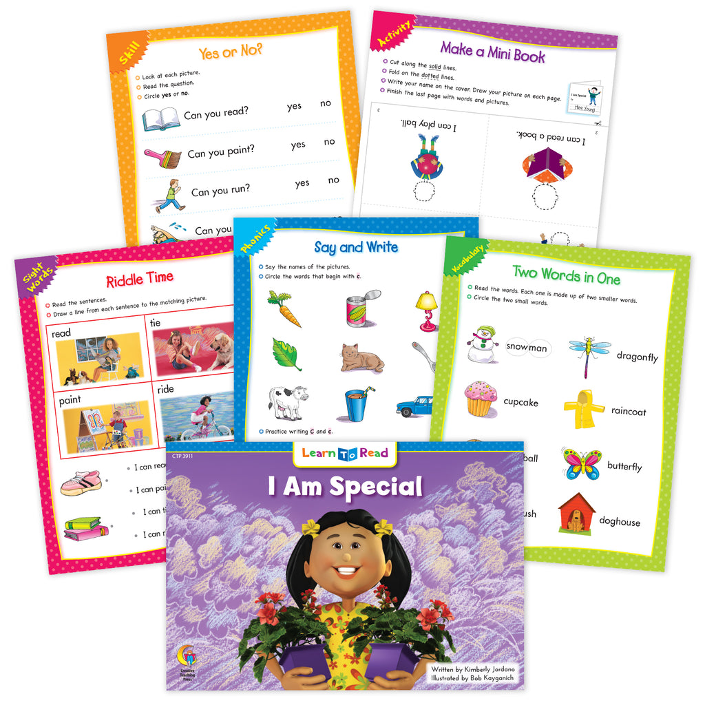 I Am Special Ebook & Worksheets