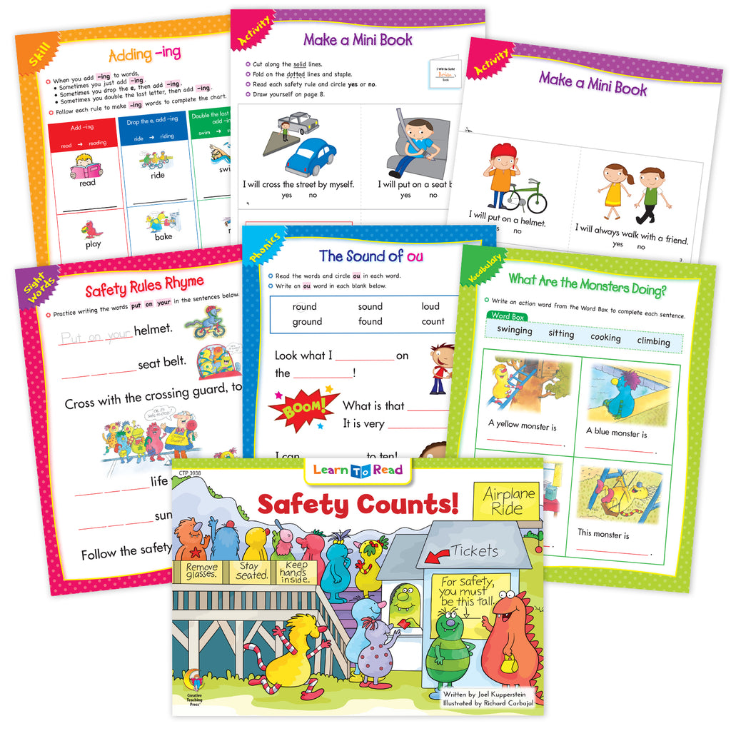 Safety Counts! Ebook & Worksheets