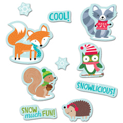 Winter Woodland Friends Stickers