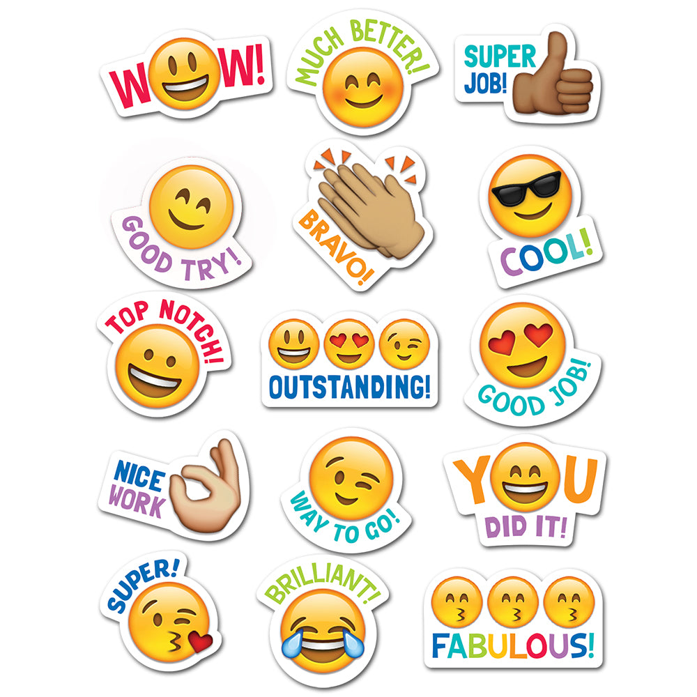 Emoji Fun Rewards Stickers – Creative Teaching Press