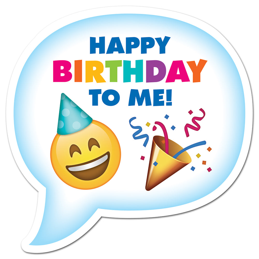Emoji Fun Birthday Badge