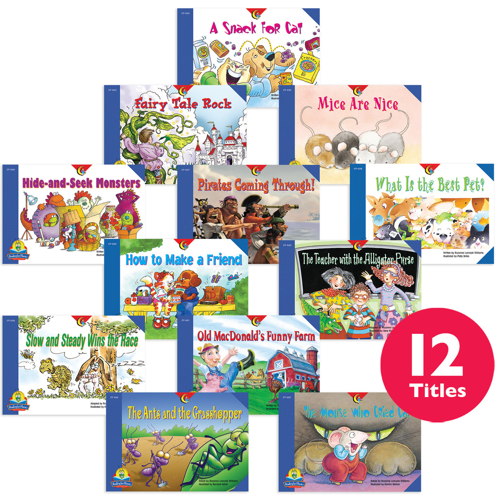 Reading For Fluency Set 2 Variety Pack