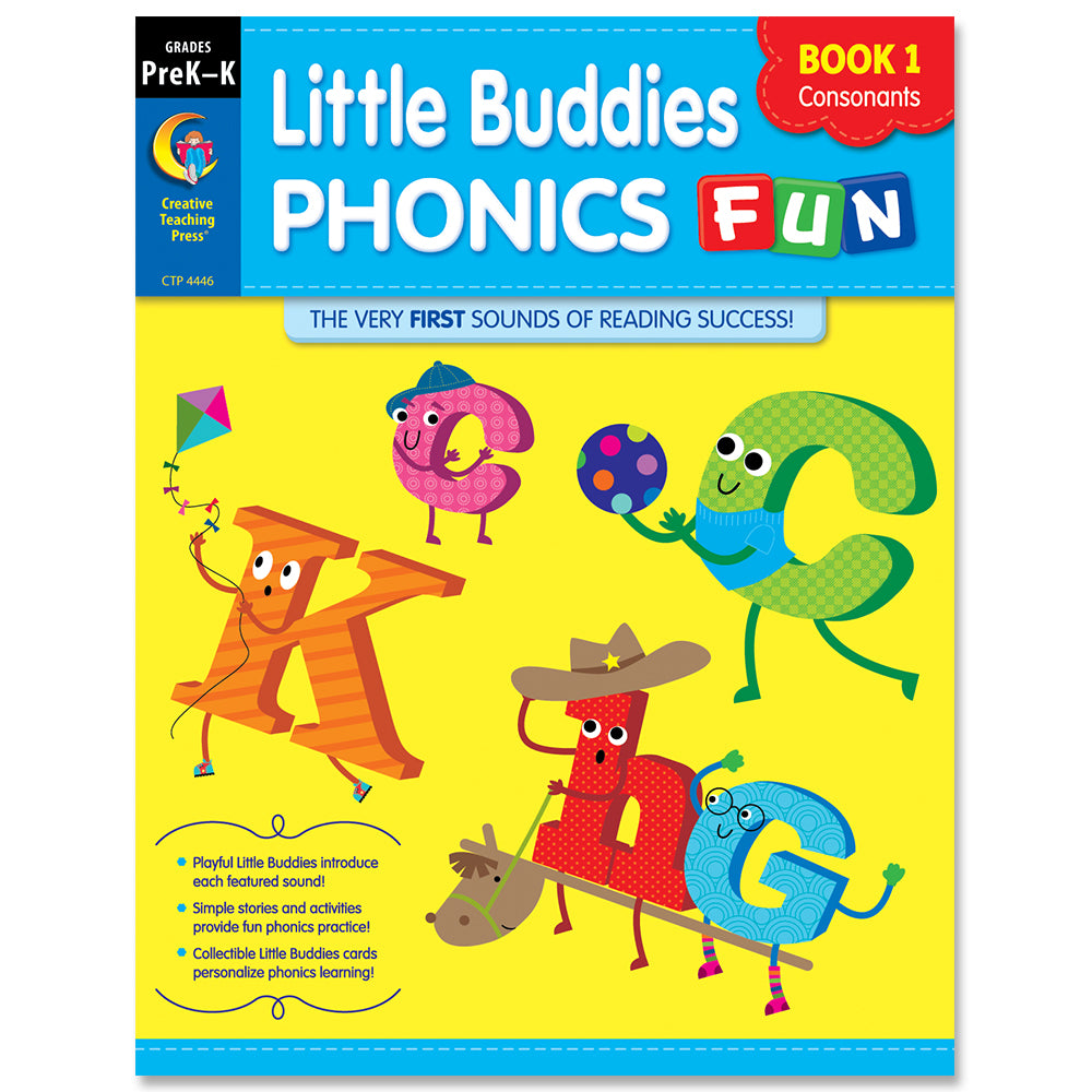 Little Buddies Phonics Fun, Book 1: Consonants, eBook