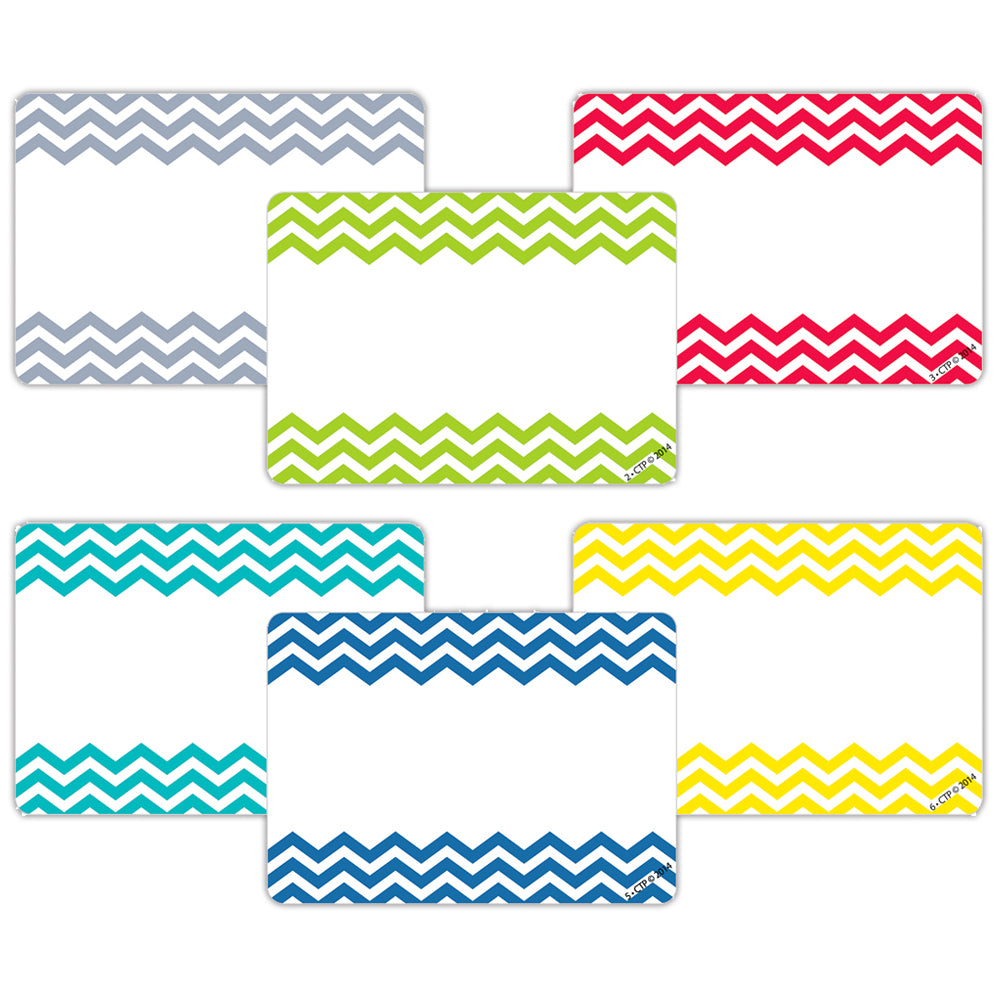 Chevron Solids Labels
