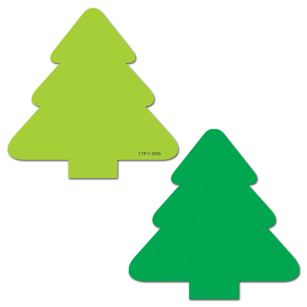 Tree Two-Color Calendar Cut-Out