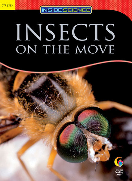 Insects on the Move Nonfiction Science Reader