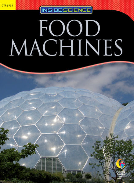 Food Machines Nonfiction Science Reader