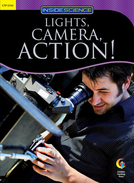 Lights, Camera, Action! Nonfiction Science eBook Reader
