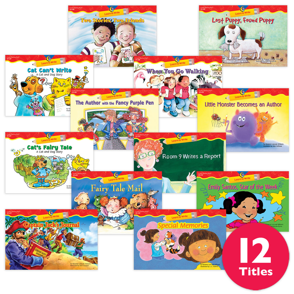 Learn to Write Gr. 1-2 Variety Pack