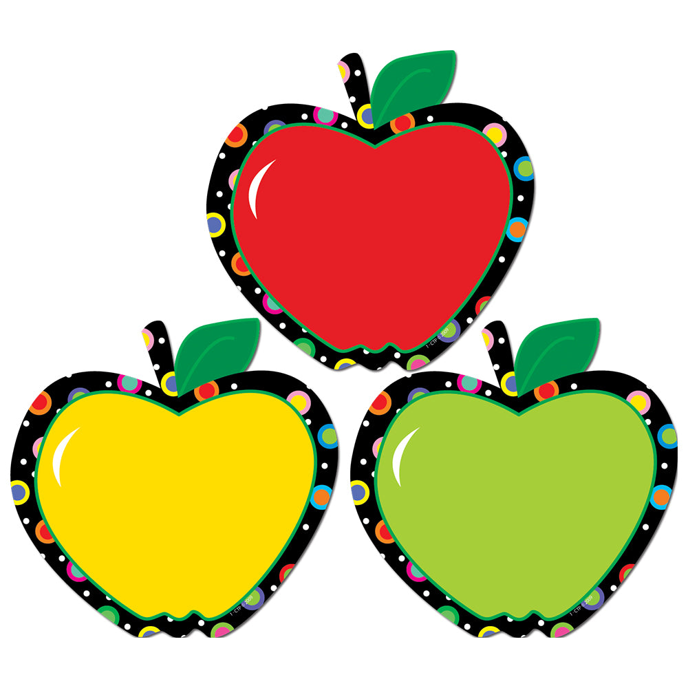 "Poppin' Patterns Apples 6"" Designer Cut-Outs"