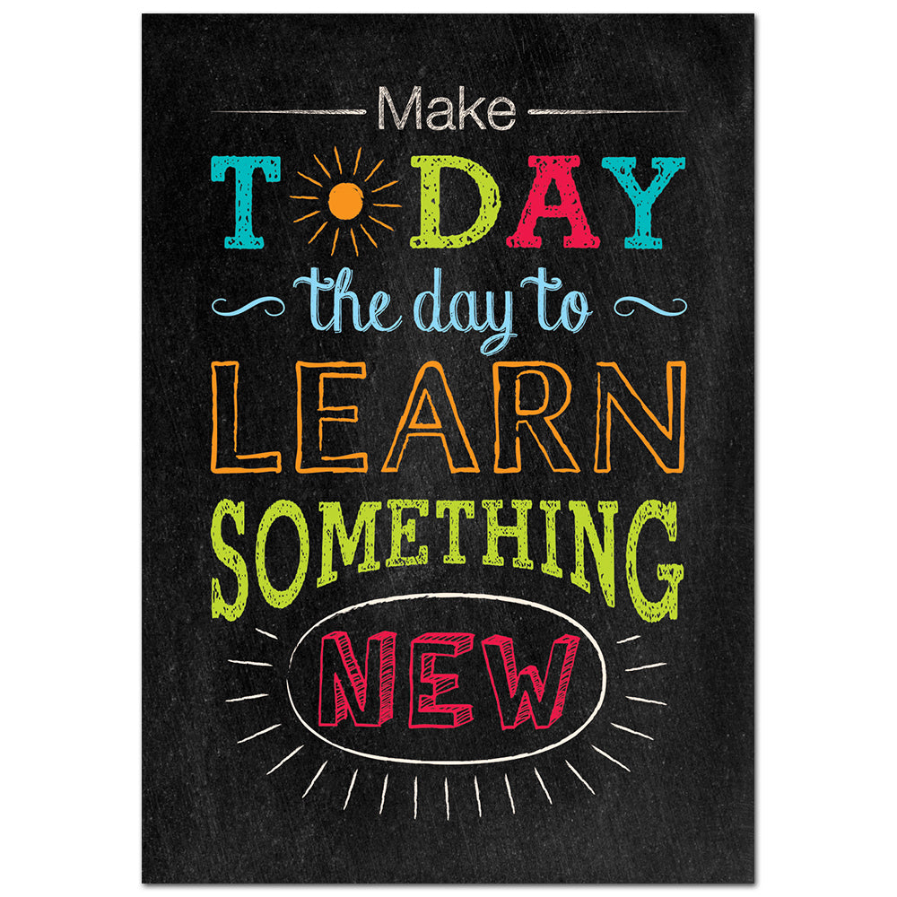 Make Today the Day... Inspire U Poster