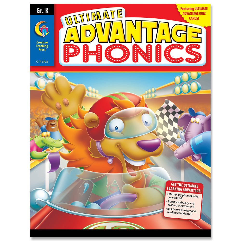 Ultimate Advantage: Phonics, Gr. K eBook