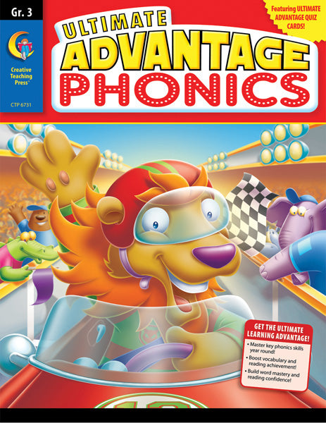 Ultimate Advantage: Phonics, Gr. 3, eBook