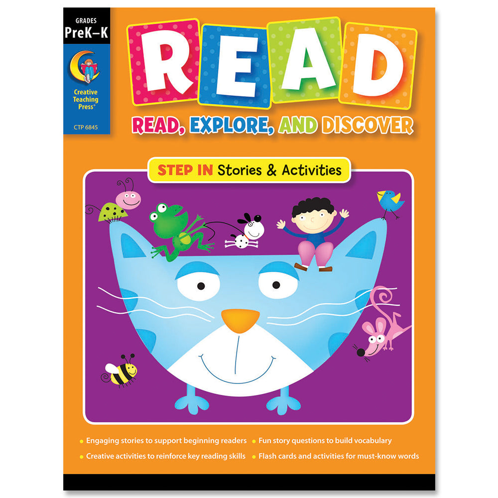 READ: Step In, PreK–K, eBook
