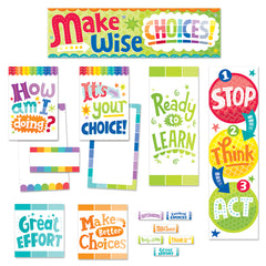 Painted Palette Behavior Clip Chart Mini Bulletin Board
