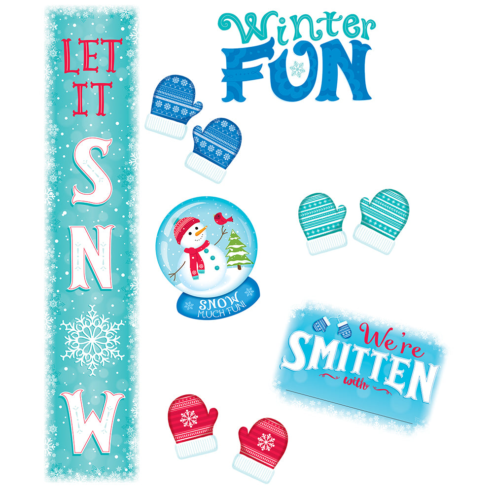 Snow Much Fun Bulletin Board
