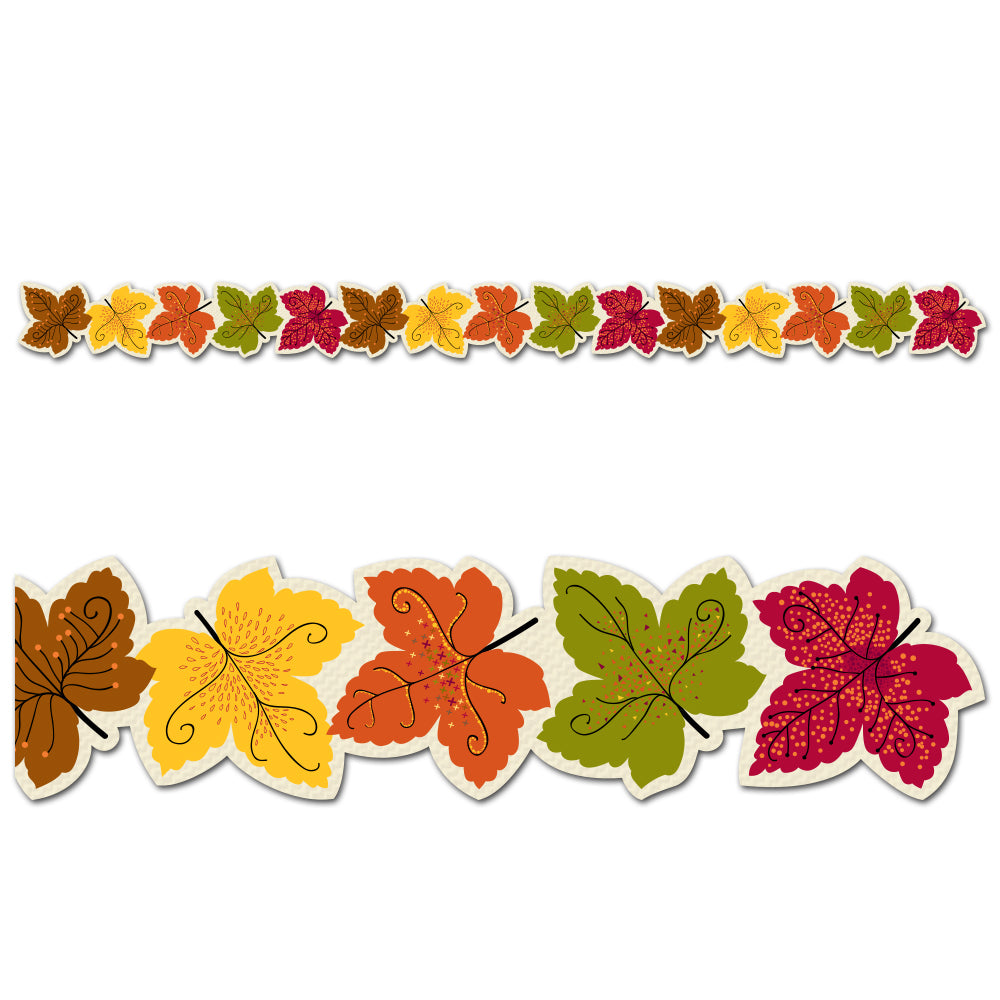 Maple Leaves Border