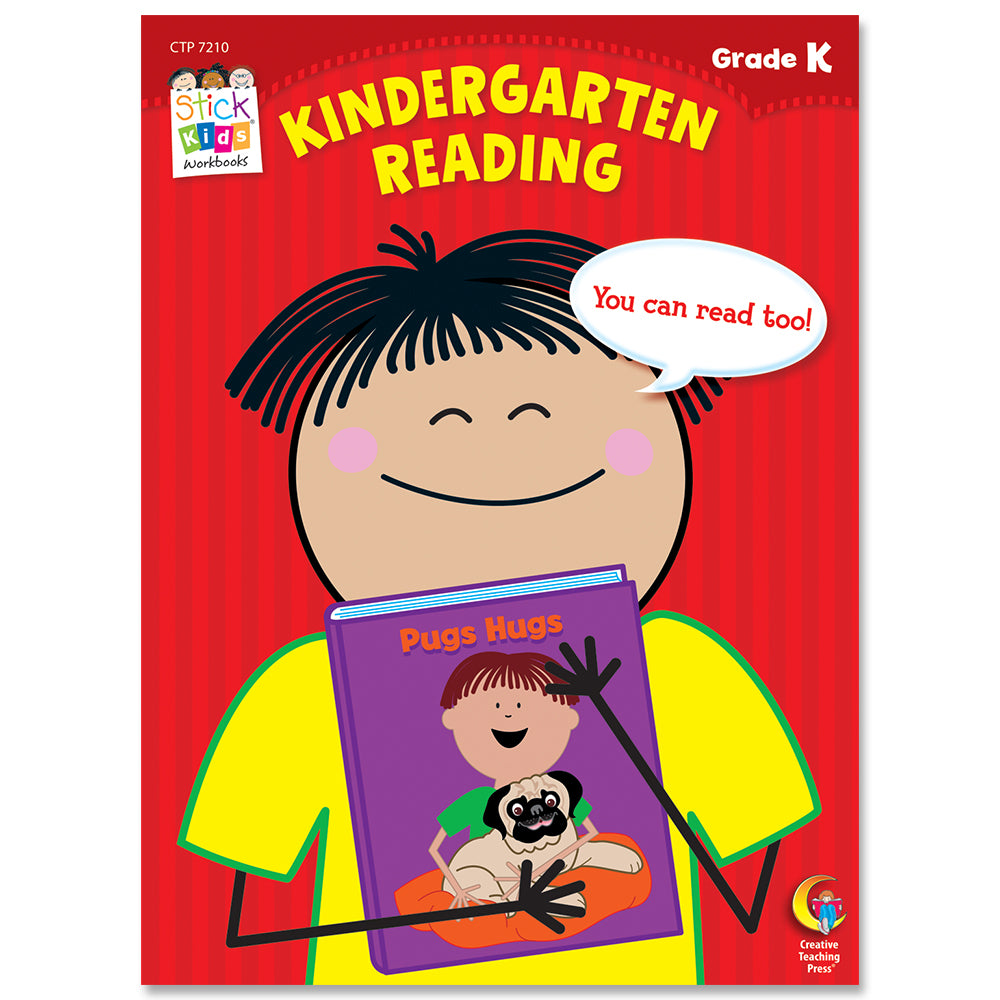 Kindergarten Reading Stick Kids Workbook eBook