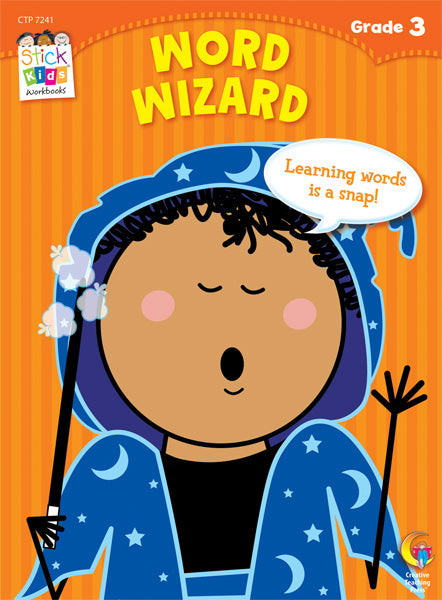 Word Wizard Stick Kids Workbook, Grade 3 eBook