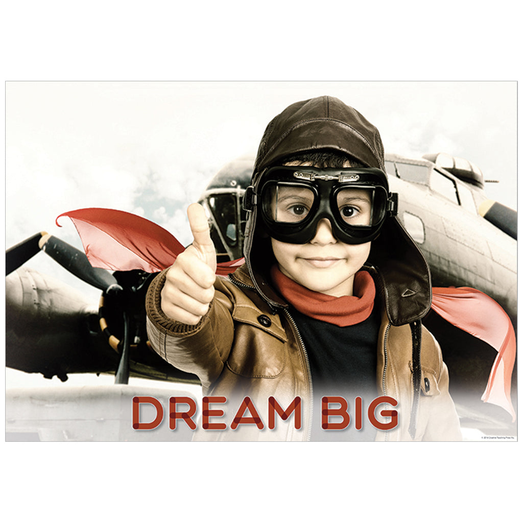 Dream Big Inspire U Poster, Gr. PreK-1