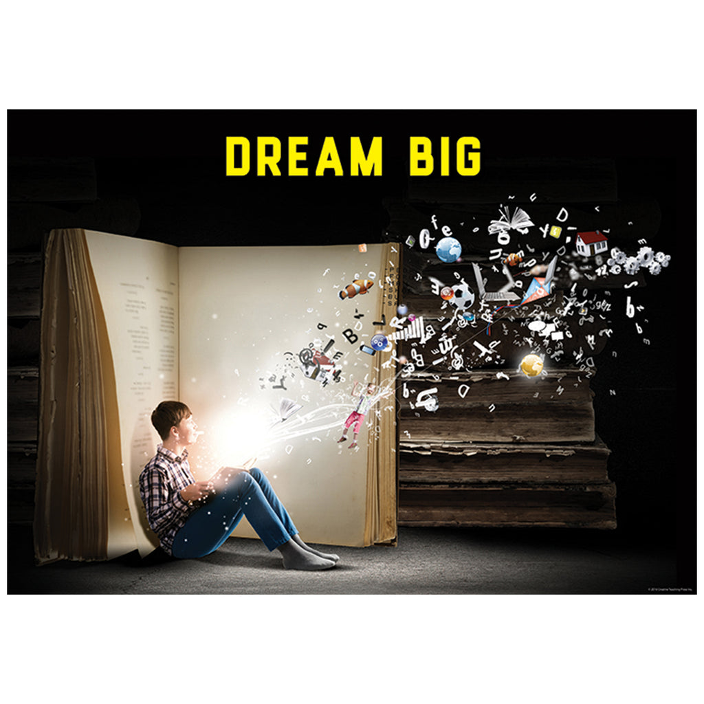 Dream Big Inspire U Poster, Gr. 3+