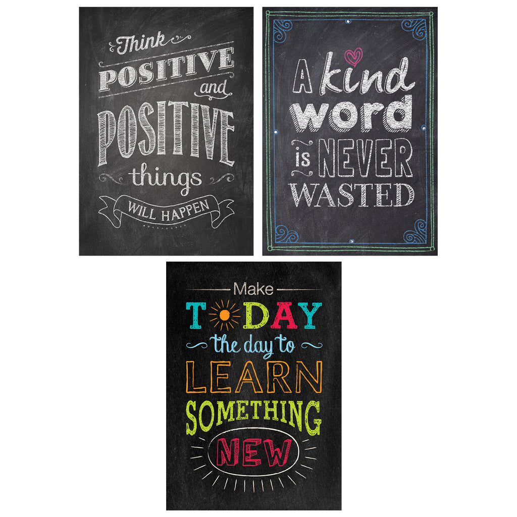 Be Your Best Inspire U Poster 3-Pack