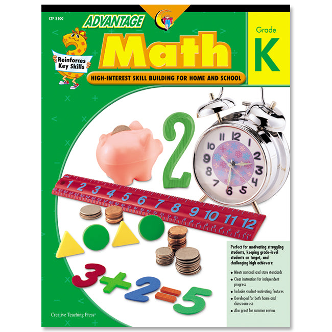 Advantage Math, Gr. K, eBook