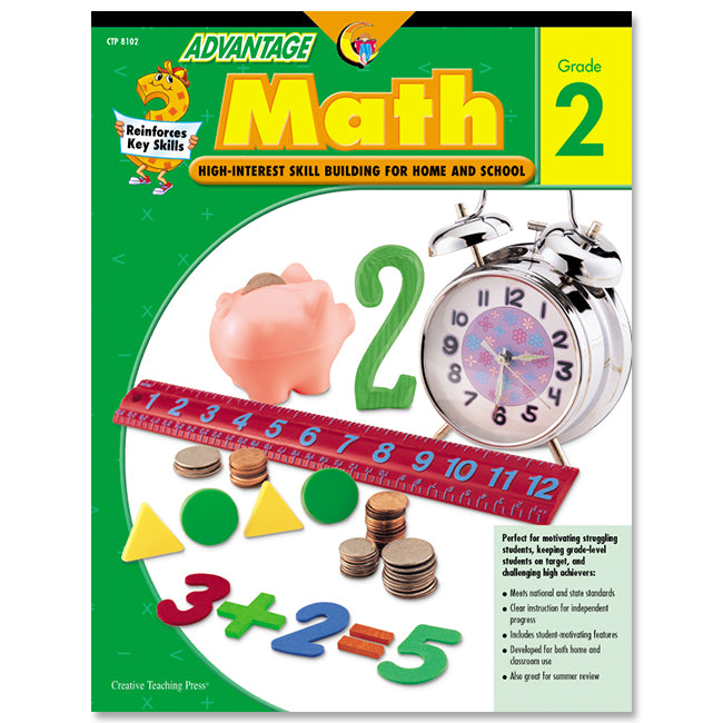 Advantage Math, Gr. 2, eBook