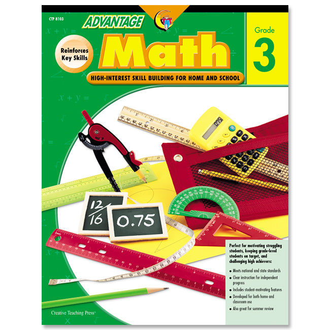 Advantage Math, Gr. 3, eBook